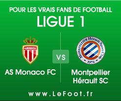 Monaco – Montpellier : Stats