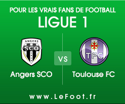 Angers - Toulouse : Stats