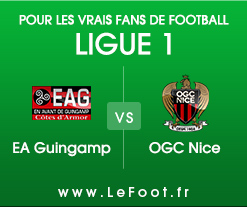 Guingamp – Nice : Stats