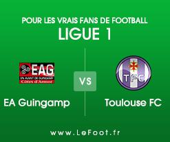 Guingamp – Toulouse : Présentation