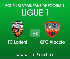 Lorient – GFC Ajaccio : Stats
