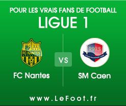 Nantes – Caen : Stats