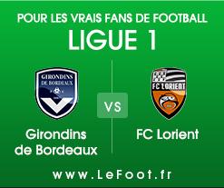 Bordeaux – Lorient : Stats