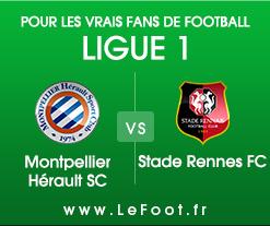 Montpellier – Rennes : Stats