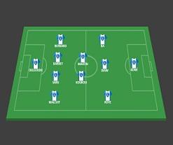 Niort  4 – 5 – 1