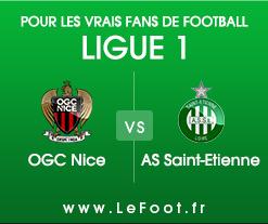 Nice – Saint-Etienne : Stats