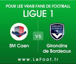 Caen – Bordeaux : Stats