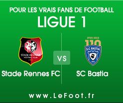 Rennes – Bastia : Stats