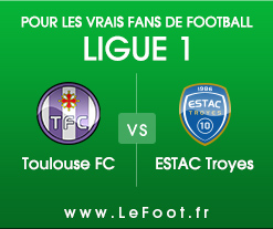 Toulouse – Troyes : Stats