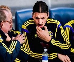 Zlatan dans le groupe suédois