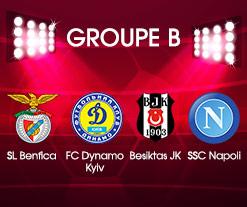 L'affiche du Groupe B !